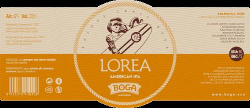 LOREA-ETIKETA