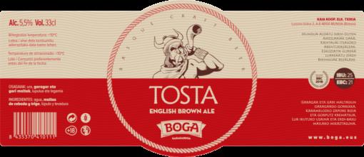 TOSTA-ETIKETA