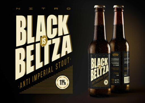 Nitro Black is Beltza etiketa