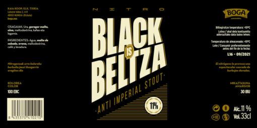 Nitro Black is Beltza BERRIA etiketa