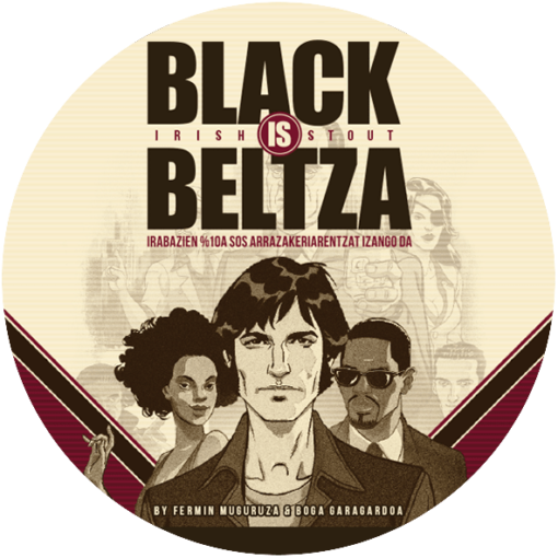 BOGA BLACK IS BELTZA LOGO