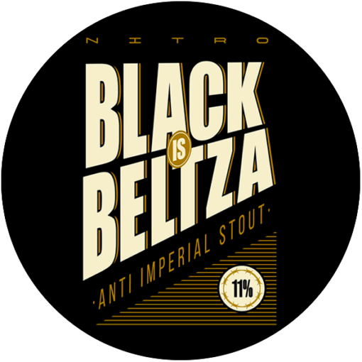 NITRO BLACK IS BELTZA LOGO
