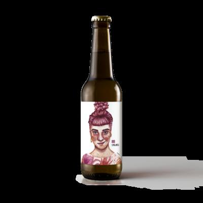 Edición limitada 8B Emakumeok. Cerveza día de la mujer.