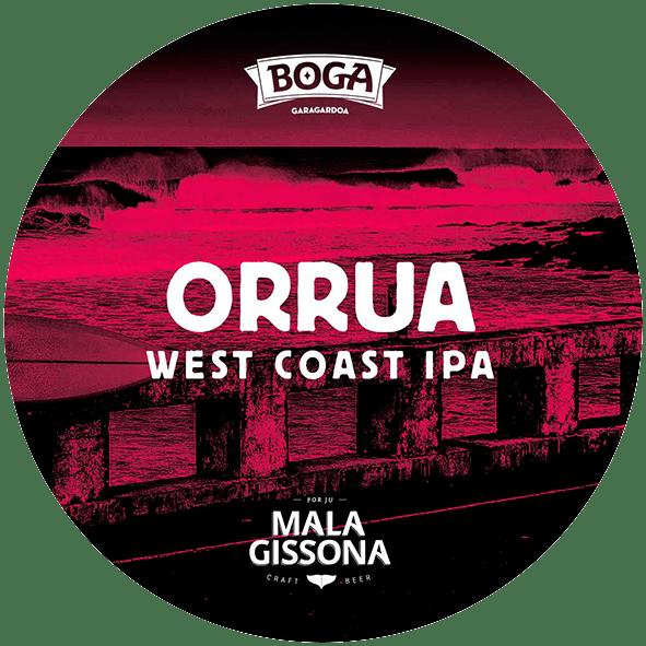 ORRUA West Coast IPA - Mala Gissona